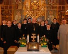 Com. dos 40 anos das irmas em Roma